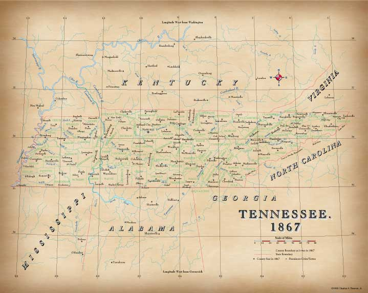 Tennesee in 1867
