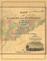 Matthew Rhea's Original Maps for Alabama and Tennessee